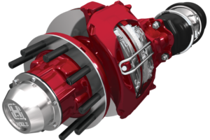 All of Red Line's tractors have disc brakes and now half of the trailer fleet as well.