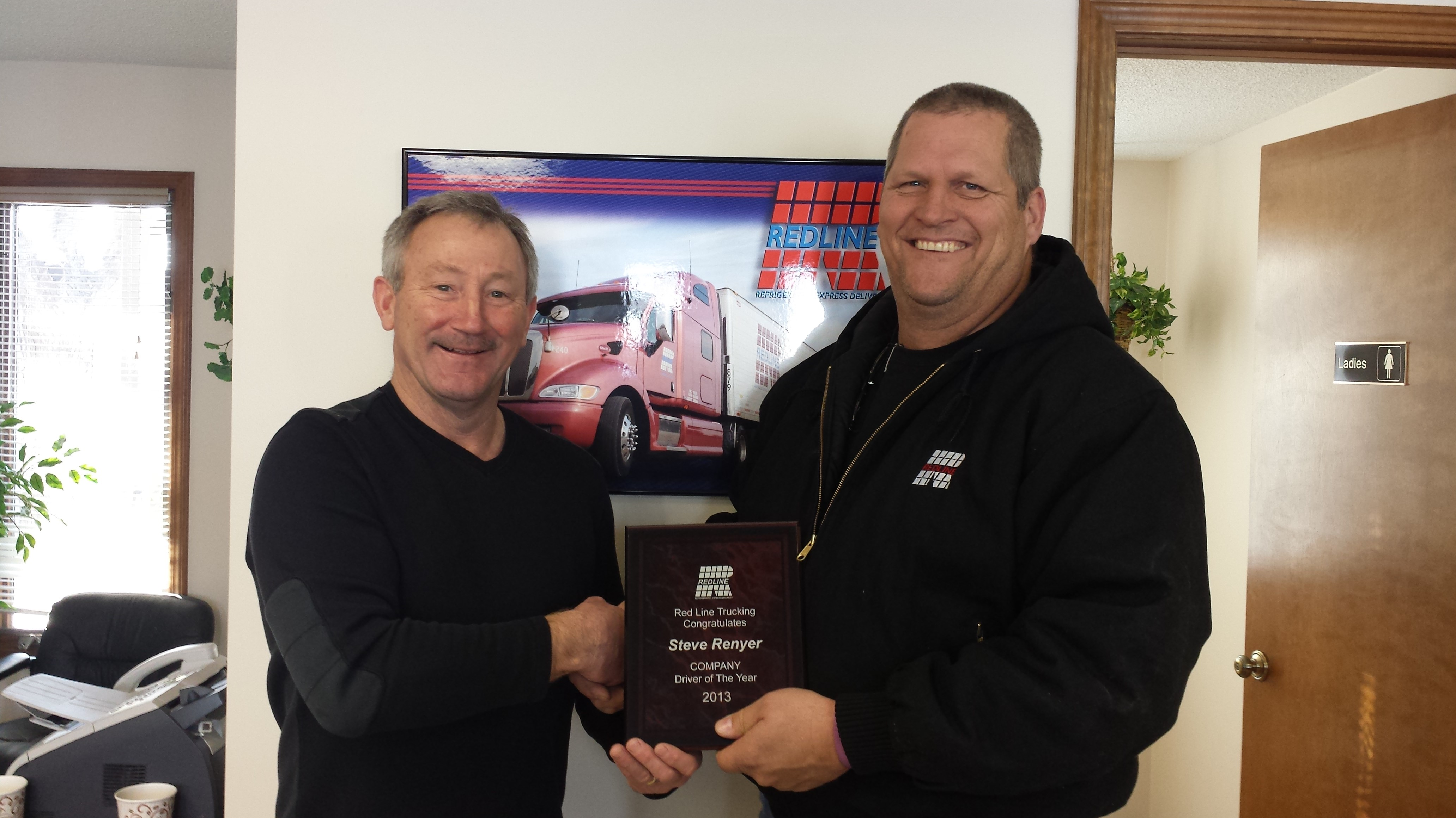 2013 Company Driver of the Year