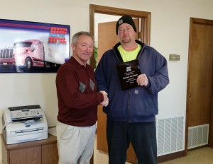 Mike VanMeter awarded $1,000.00 for his leadership and contributions to the company.