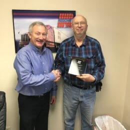2018 Top Company Driver – CSA Score